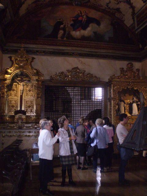 The upper choir, Bom Sucesso